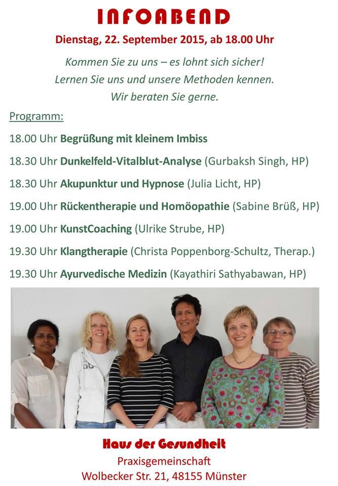 Aktuelles aus der Naturheilpraxis Julia Licht in Münster